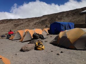 Camp at Kibo